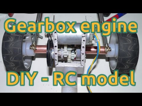 How to DIY Build GearBox for RC model