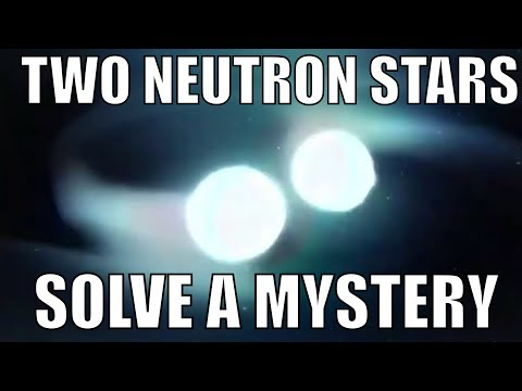 Two Neutron Stars Collide - Solve Astronomical Mystery
