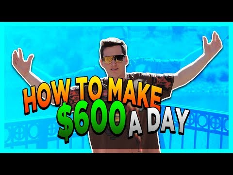 How To Make $600 In A Day [This Is CLEVER]