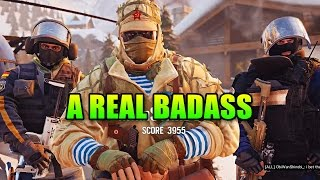The Most Baddest Of Asses | Rainbow Six Siege Squad Up