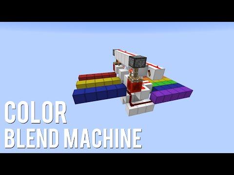 Redstone: Color Blend Machine