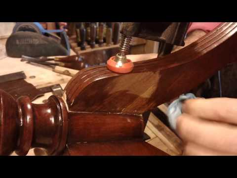 Antique PieCrust Table Repair