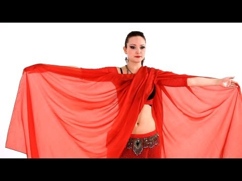 How to Do Veil Lift & Butterfly Move | Belly Dance