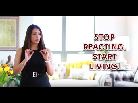 Stop Reacting. Start Living.