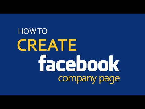 How to setup a Facebook page for business?