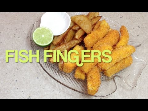 How to make Fish Fingers Video Recipe cheekyricho