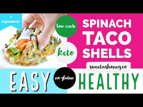 Spinach Taco Shells youtube