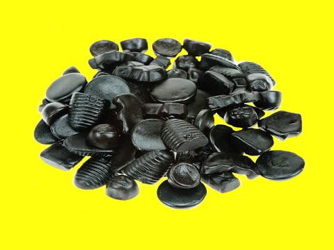 Salted Black Licorice