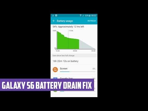 Galaxy S6 Battery Drain Fix