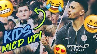 KIDS MIC'D UP! | FA CUP SEMI FINAL | ALTERNATIVE HIGHLIGHTS