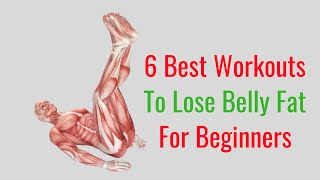 6 Best Workouts to Lose Belly Fat for Beginners - Full Body Workout Fitness