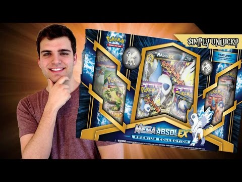 Best Pokemon X and Y Mega Absol EX Premium Collection Box! ..Holy Holo..