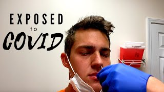 Evan gets exposed to COVID 19