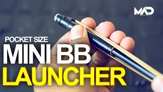 How to make a BB LAUNCHER gun!