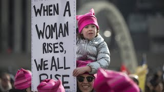 Thousands rally across US one year after Women's March
