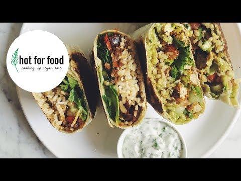 BURRITOS 2 WAYS | RECIPE?! LIVE EP #5 | hot for food
