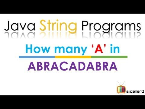 99 Java Count Occurrence Of Character In String |