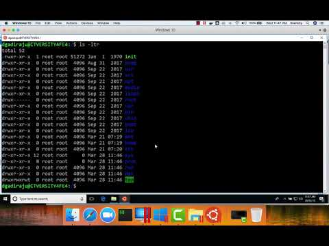 Accessing C Drive using Ubuntu built using Windows subsystem for Linux