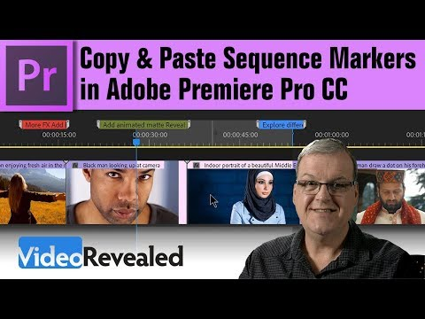 Copy & Paste Sequence Markers in Adobe Premiere Pro CC