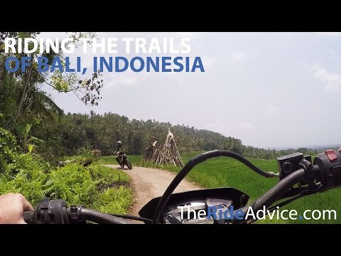 Riding the Trails of Bali, Indonesia