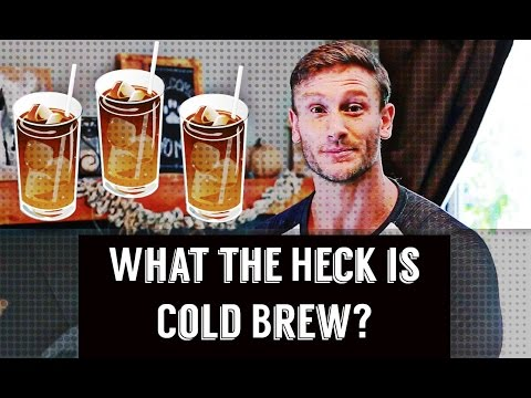 Coffee Benefits: Cold Brew vs. Regular Brew- Thomas DeLauer