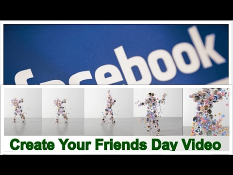 How To Make Your Friendship Day Video on Facebook   Editing