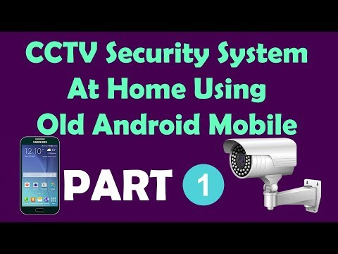 CCTV Security System at home using Old Android Mobile - PART 1 | Som Tips