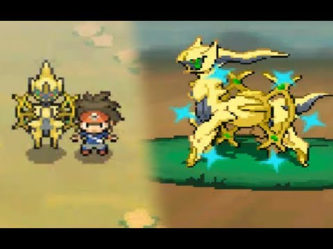 Pokémon Black 2 / White 2: Legendary SHINY Arceus Encounter (Hack)