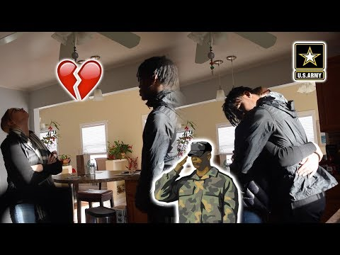 I'M JOINING THE ARMY PRANK ON GIRLFRIEND!!! (SHE CRIED) 😫😭💔