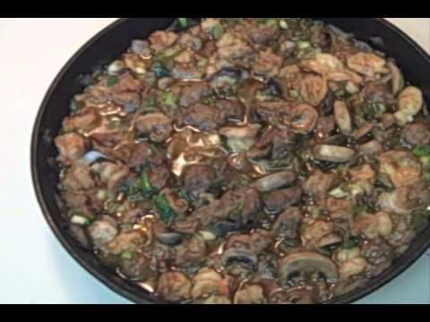 Shrimp, Italian Sausage and Mushroom Jambalaya (video)