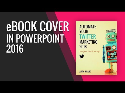 How to Create eBook Cover in PowerPoint 2016?
