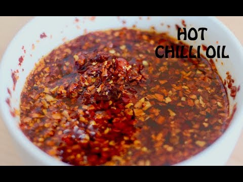HOT CHILLI OIL | HOW TO MAKE HOT CHILLI OIL | VERY HOT SAUCE | CHINESE HOT CHILLI OIL