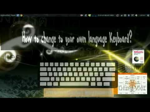 How to change keyboard input methods for different languages in Ubuntu 14.04.