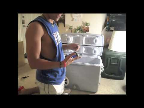 how to build a cooler radio part 4
