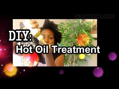 DIY Homemade Hot Oil Treatment for Natural Hair