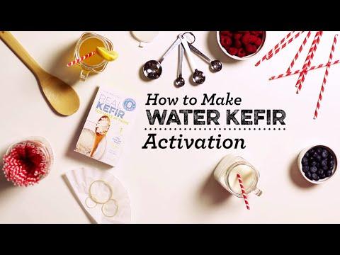 Activating Water Kefir Grains