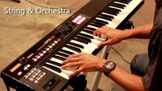Roland xps10 Demo Indian Tones 1 Just like roland xp60 and fantom g6