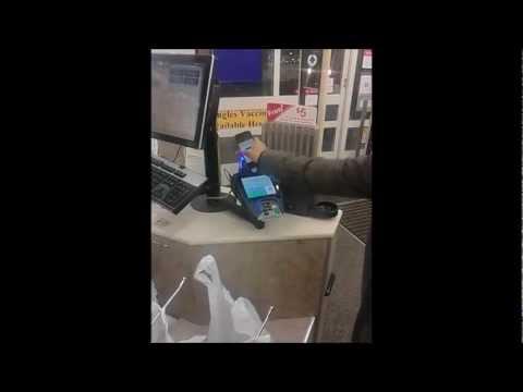 Google Wallet Demonstration Nexus 4