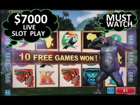 $7000 Live Slot Play | Part 3