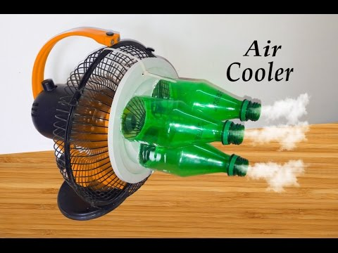 How to make air cooler - Eco Cooler - Using plastic bottle