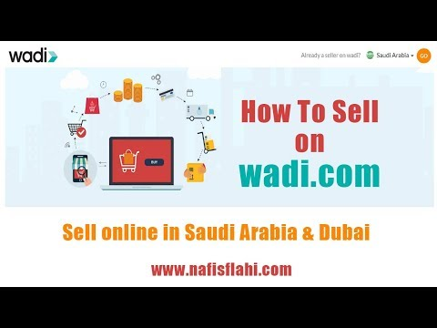 How to Sell on Wadi : Sell online In Saudi Arabia & Dubai