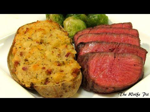 How To Grill Filet Mignon Steak - Gas Grill Recipe