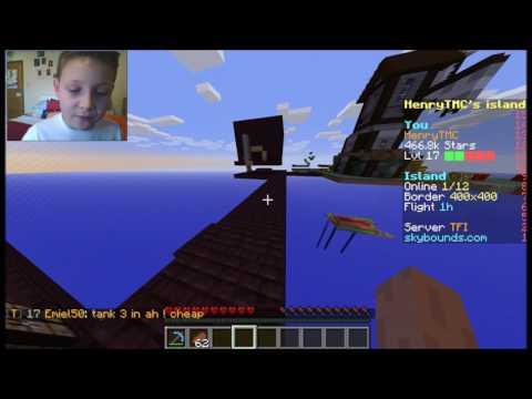MY ENDERMAN SPAWNER - Minecraft Skybounds