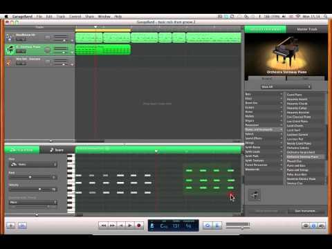 Harmony in Garageband pt. 1