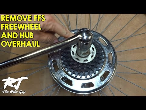 How To Remove Shimano FFS Friction Freewheel And Hub Overhaul