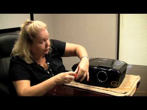How to Change a Projector Lamp