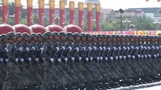 (2) Fête nationale chinoise défilé militaire marquant le 60e anniversaire