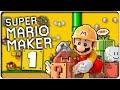 Let S Play Super Mario Maker Part 1 Tutorial 10 Mario Heraus