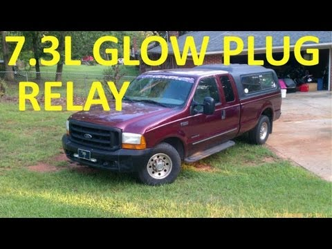 How to Test Glow Plug Relay 7.3L Ford Diesel