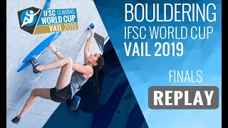 Download IFSC Climbing World Cup Vail 2019 - Bouldering Finals Video
